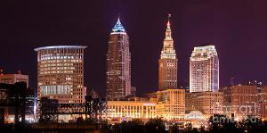 cleveland-skyline-night-color-downtown-buildings-jon-holiday